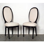 Image of Vintage 1960s Hollywood Regency Chairs - A Pair