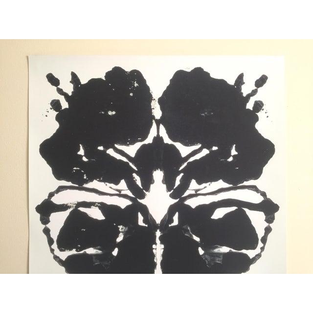 Andy Warhol Original Offset Lithograph Print Poster Rorschach Ink Blot - Image 3 of 7