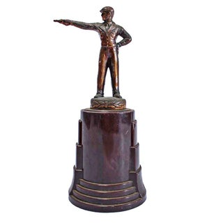 Vintage Pistol Shooting Trophy