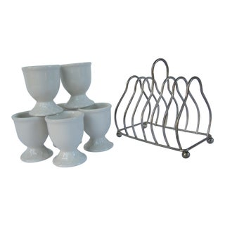 Toast & Eggs Holders - 7 Pieces
