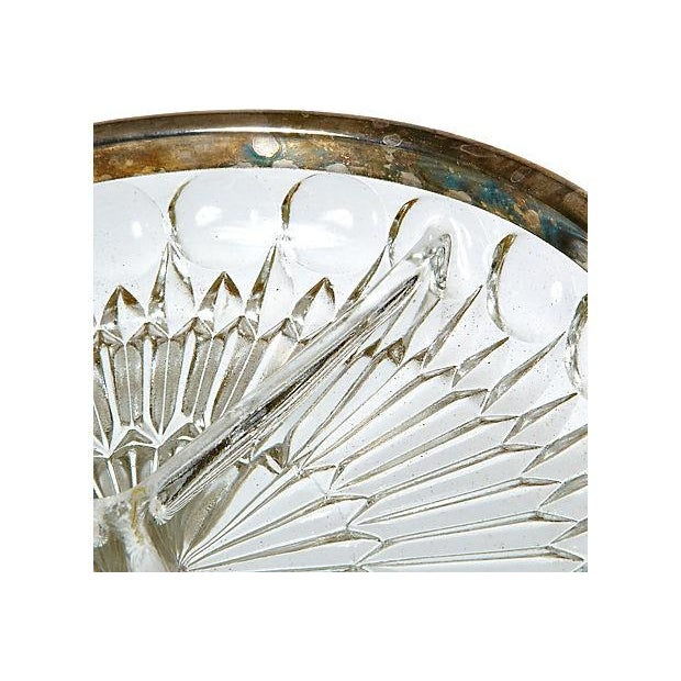 Metal Edge And Glass Sectioned Server - Image 3 of 3