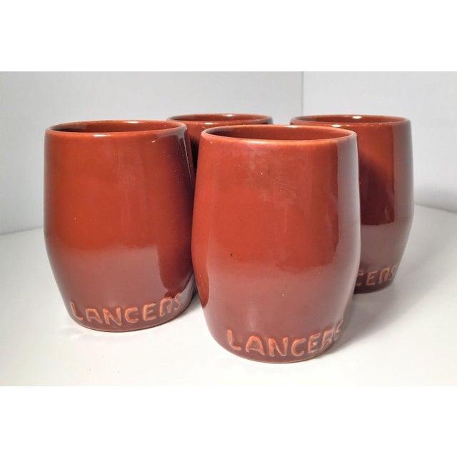 Classy lancer 39 s handleless mug wine glasses set of 4 chairish - Handleless coffee mugs ...