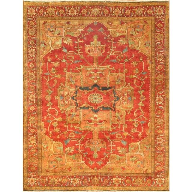 Pasargad Serapi Heriz Wool Area Rug - 6'x9' - Image 1 of 1