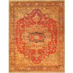 Image of Pasargad Serapi Heriz Wool Area Rug - 6'x9'