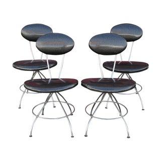 1950s Modern Atomic Age Chairs - Set of 4