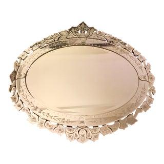 Vintage Skyler Venetian Mirror