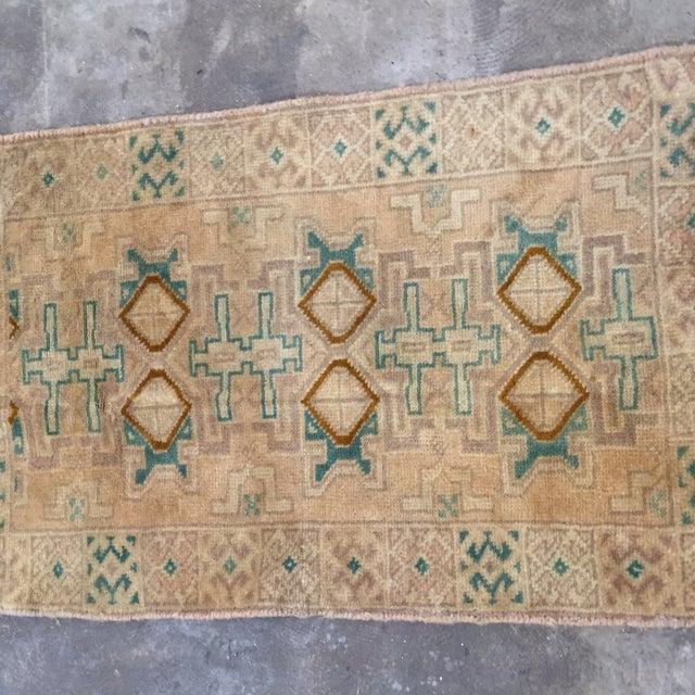 "Turkaman Handmade Persian Rug 1'6"" x 2'8"" - Image 3 of 10"