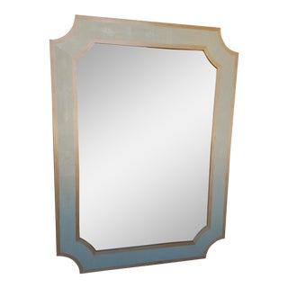 Faux Shagreen Mirror