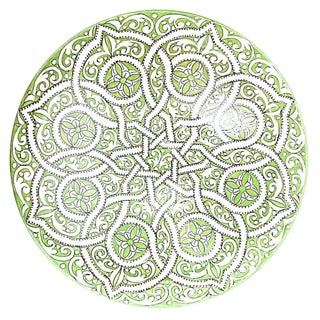 Atlas Moroccan Arabesque Serving Dish