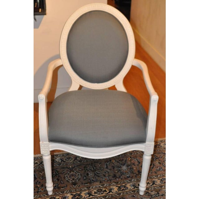 Safavieh Oval Back Chair - Image 2 of 5