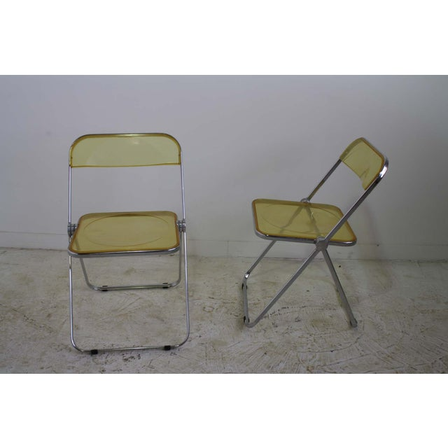 Castelli Plia Lucite Folding Chairs - A Pair - Image 2 of 6