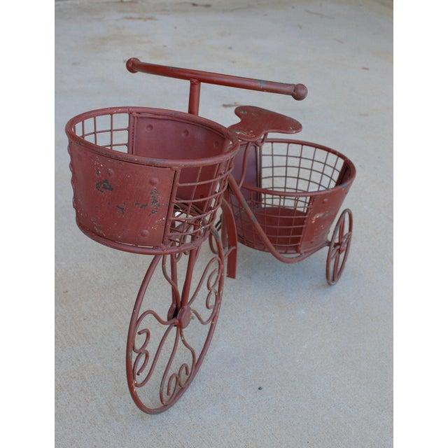 Image of Metal Nostalgia Yard Bike Planter