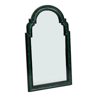 Art Deco Faux Malachite Mirror