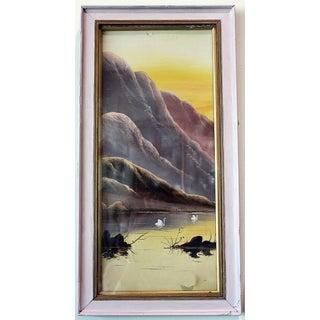 Japanese Style Pastel Art Painting