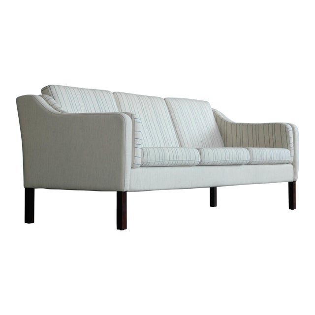 Børge Mogensen Style Three-Seat Sofa Model 2423 by Mogens Hansen - Image 1 of 9