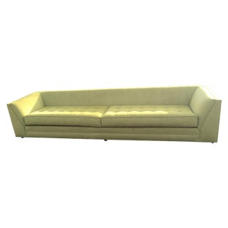 Green Mid-Century Sofa
