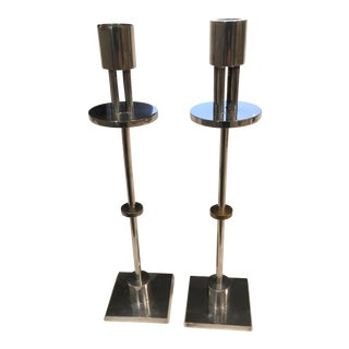 Ettore Sottsass Candle Holders- A Pair