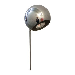 Modern Chrome Ball Floor Lamp