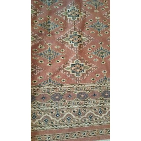 Hand Woven Vintage Rug - 4' X 6' - Image 4 of 6