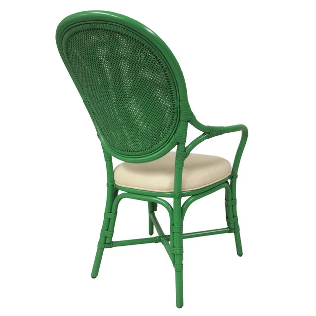 Selamat Designs Parsley Dahlia Arm Chairs - A Pair - Image 6 of 6