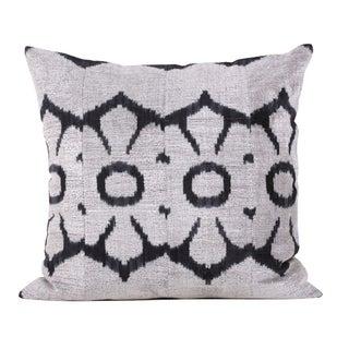 Allary Silk Velvet Accent Pillow