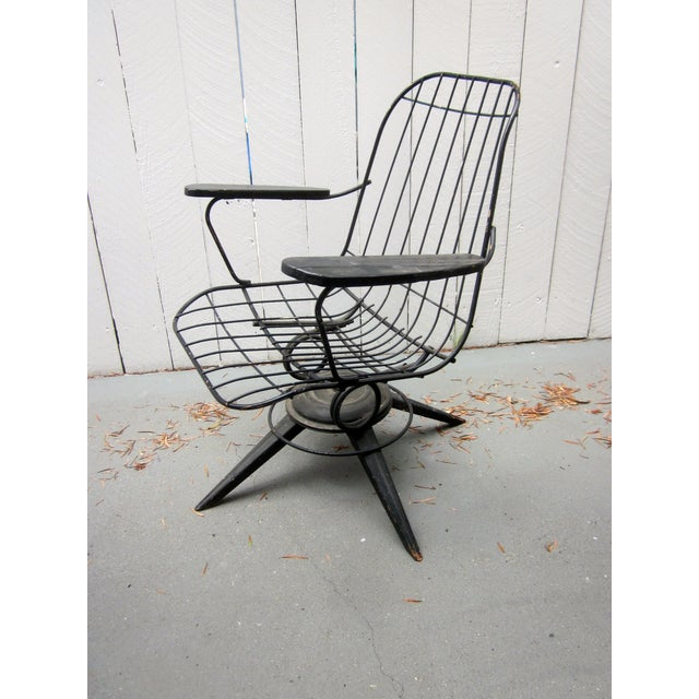 MCM Homecrest Eames Era Bertoia Style Wire Chair - Image 2 of 5