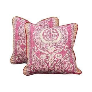 Boho Boheme Moroccan Print Pillows - A Pair