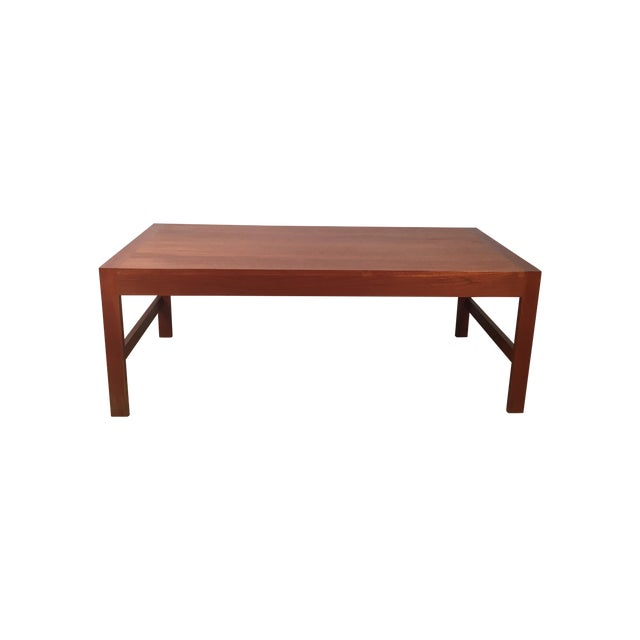 Pullout Tray Danish Modern Coffee Table Chairish