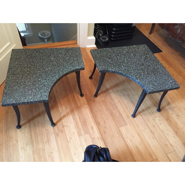 Metal Coffee Tables - A Pair - Image 2 of 4