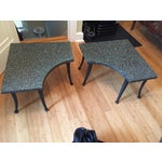 Image of Metal Coffee Tables - A Pair