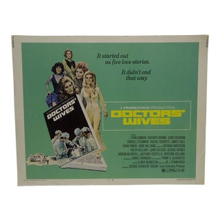 "1971 Vintage ""Doctor's Wives"" Movie Poster"