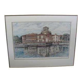 Richard Capes Ca'd Zan Reflections Ringling Mansion Sarasota Florida