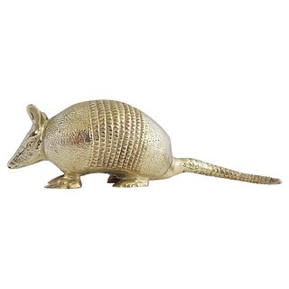Solid Brass Banded Armadillo