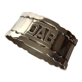 Shreve Sterling Silver Napkin Ring