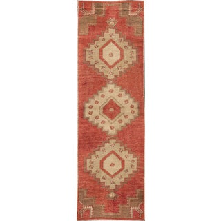 "Apadana - Vintage Turkish Runner Rug, 2'9"" x 9'"