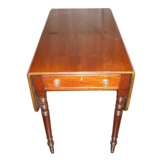 English Georgian Mahogany Pembroke Table