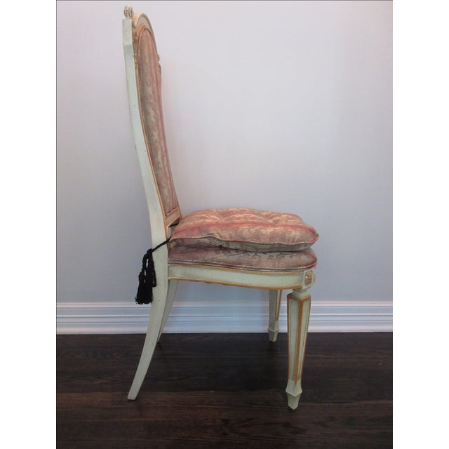 Upholstered Desk Or Vanity Accent Chair Chairish
