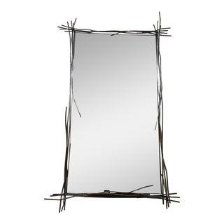 Artisan Designed Wire Framed Mirror