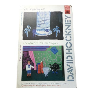 1983 David Hockney for the Royal Opera House Covent Garden Poster Board