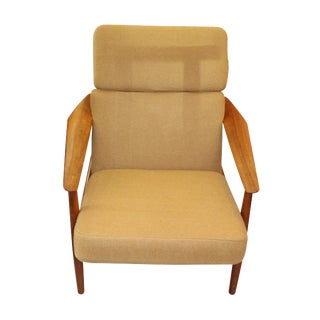 1950s Arne Vodder Danish Model 164 Lounge Chair