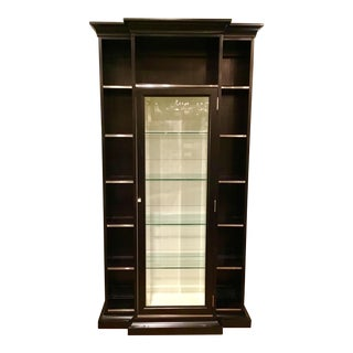 Caracole Silver Accent Display Cabinet Pair Available