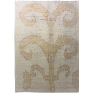 """Hand Knotted Ikat Rug - 14'5"""" x 10'4"""""""