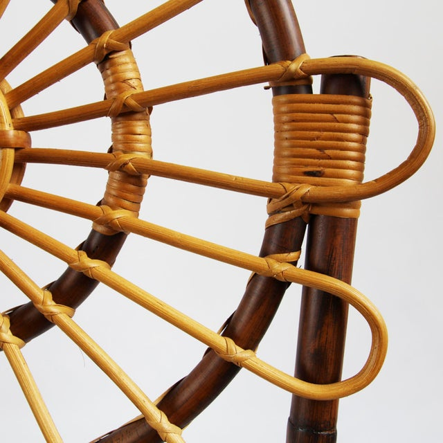 Tall Bamboo Sun Flower Chair - Image 7 of 8