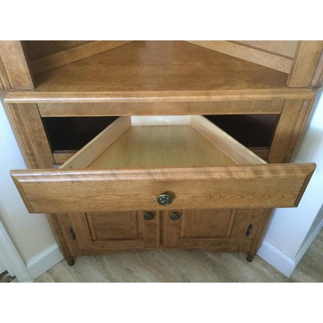 Canadel Solid Birch Kitchen Corner Hutch - Image 6 of 8