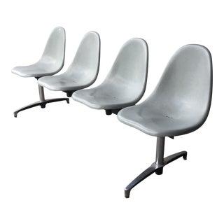 Four Seat Fiberglass Tandem Bench