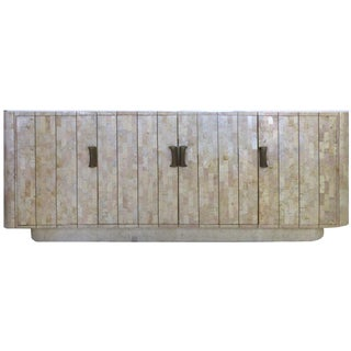 Maitland-Smith Tessellated Stone Credenza