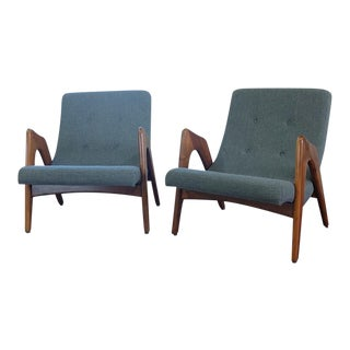 Adrian Pearsall Lounge Chairs - A Pair