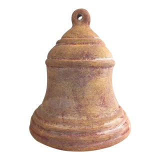 Vintage Patina Terracotta Bell