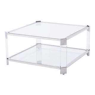 Blink Home Silver Square Cocktail Table