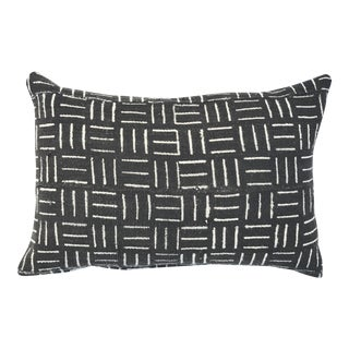 """Authentic African Mudcloth Pillow Cover, 14 X 20"""""""